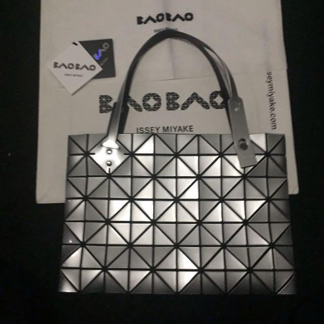 BAOBAO rock silver 7x10 with zipper