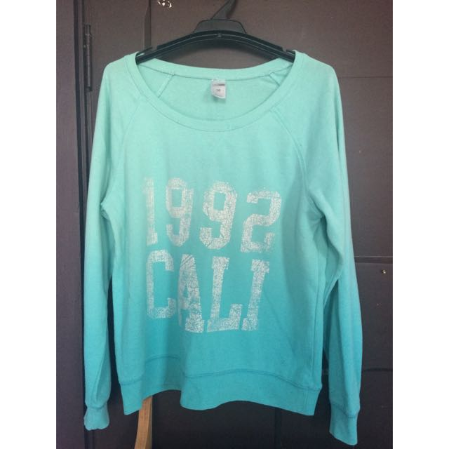 Bright Blue Sweatshirt