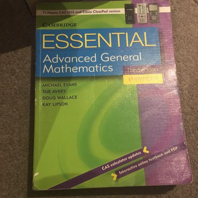 Cambridge Advanced General Mathematics Third Edition
