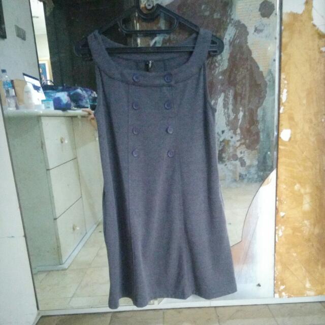 Casual Dress Grey
