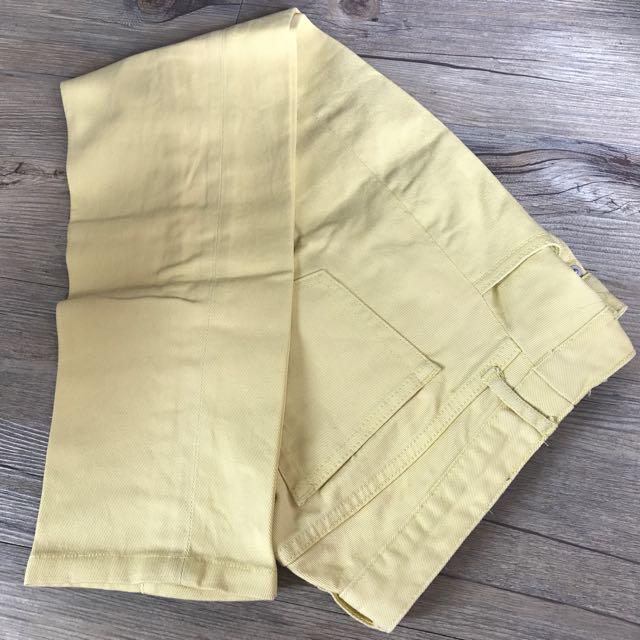 Celana Jeans Kuning Uniqlo