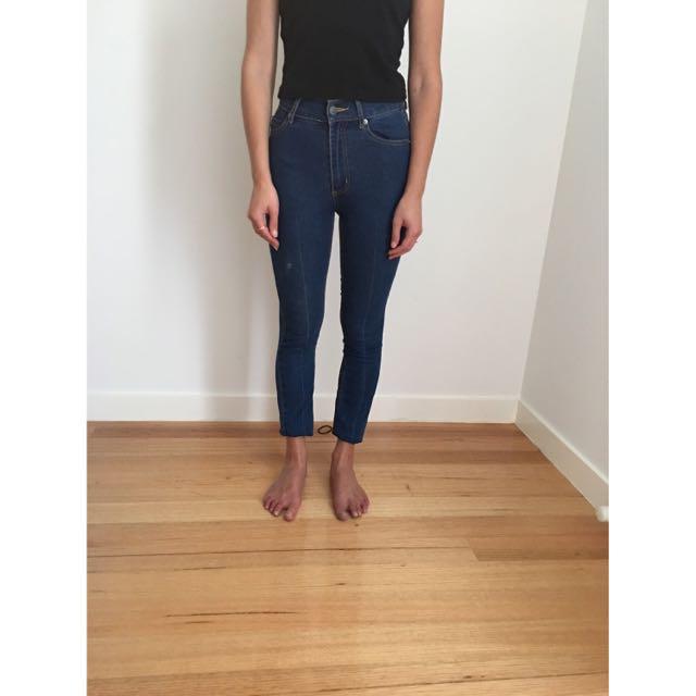 Cheap Monday High Rise Skinny Jean