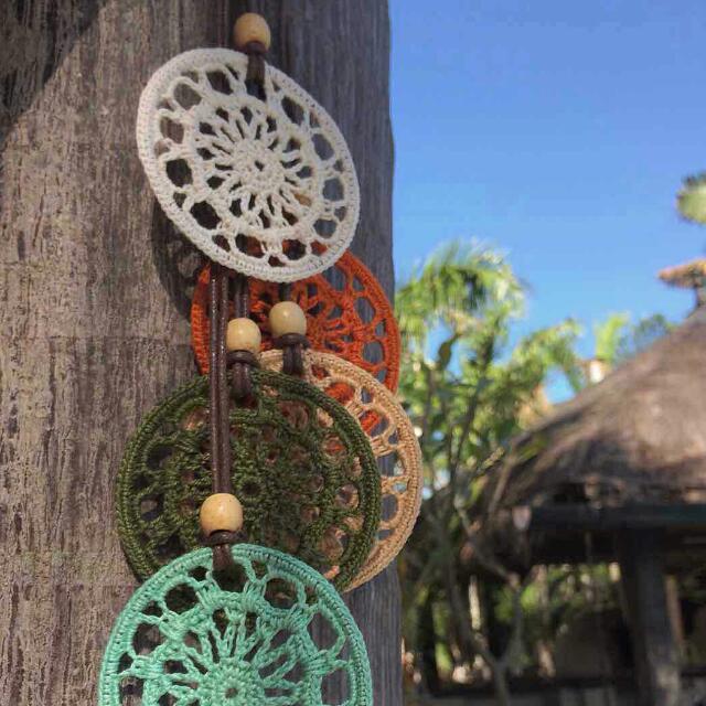 Crochet Doily Necklace