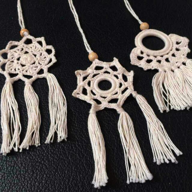 Crochet Tassel Necklace