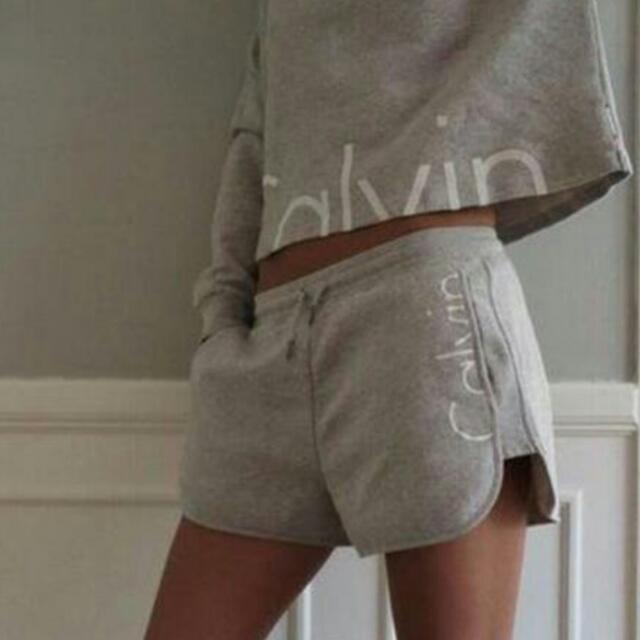 Cropped Hoodie + Matching Shorts