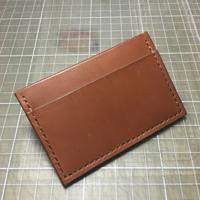 Custom: Leather Card Holder