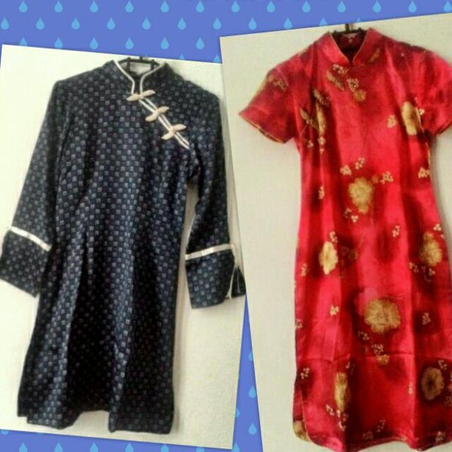 Dress Oriental Matt Saten