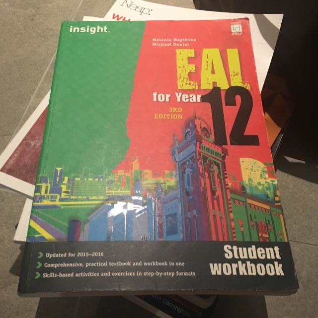 Eal Year 12 Insight Third Edition