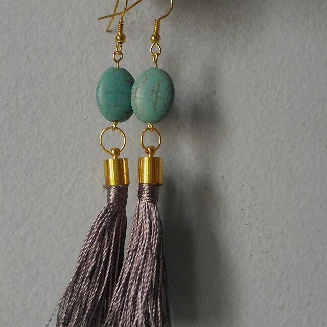 Earrings Grey