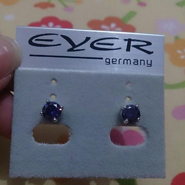 Eyer Earrings (Anting) Purple (Ungu)