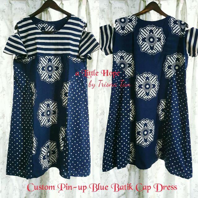 Fully Custom Eva Dress Batik Cap