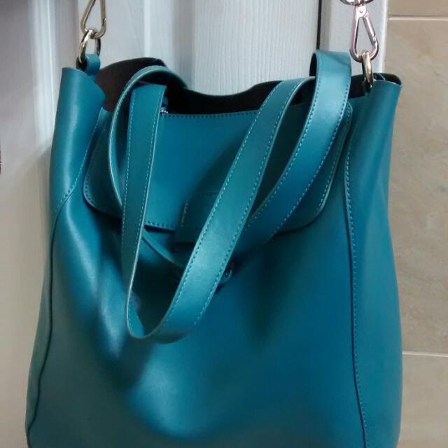 Genuine Danier Leather Bag Tote