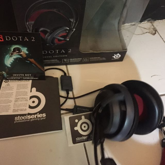 Headset Steel Series Siberia V2 Dota2 Edition