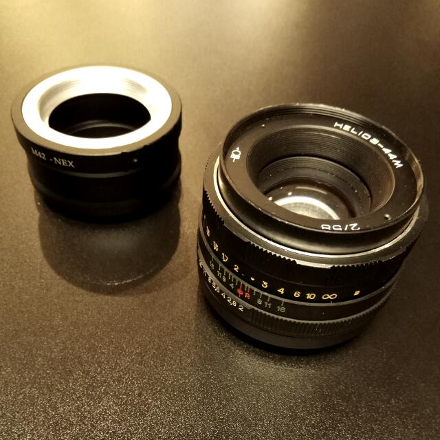 HELIOS 44M 58mm Vintage Lens with Sony E-Mount Adaptor