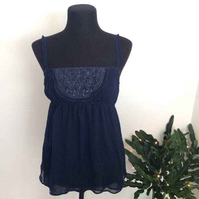 Hollister Embroidered Cami