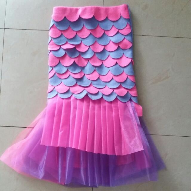 photo photo photo photo & Homemade Mermaid Tail Skirt Babies u0026 Kids Girlsu0027 Apparel on Carousell