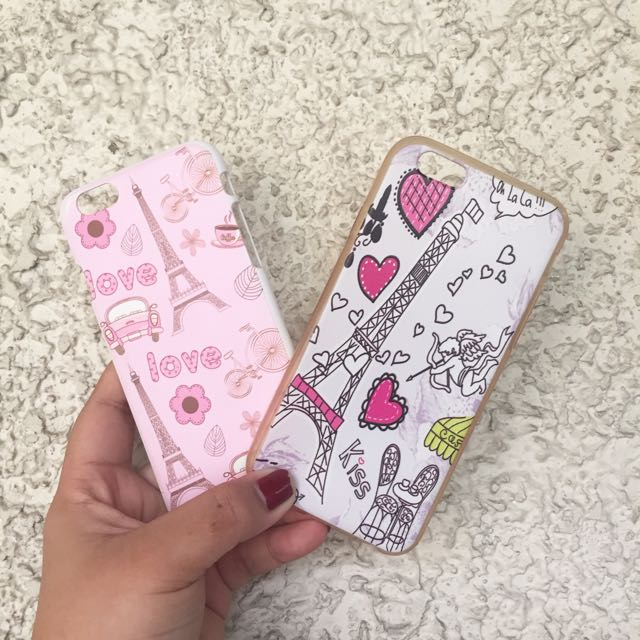 IPHONE 6 Hard and Jelly case (PARIS)