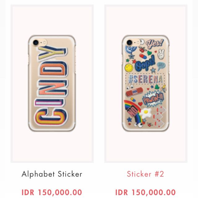 LADY H STICKER CASE