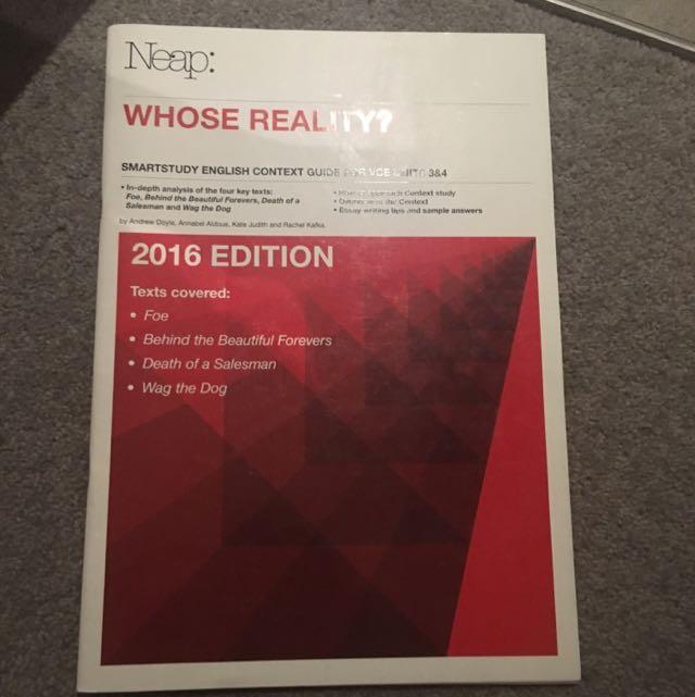 Neap Whose Reality 2016 Edition
