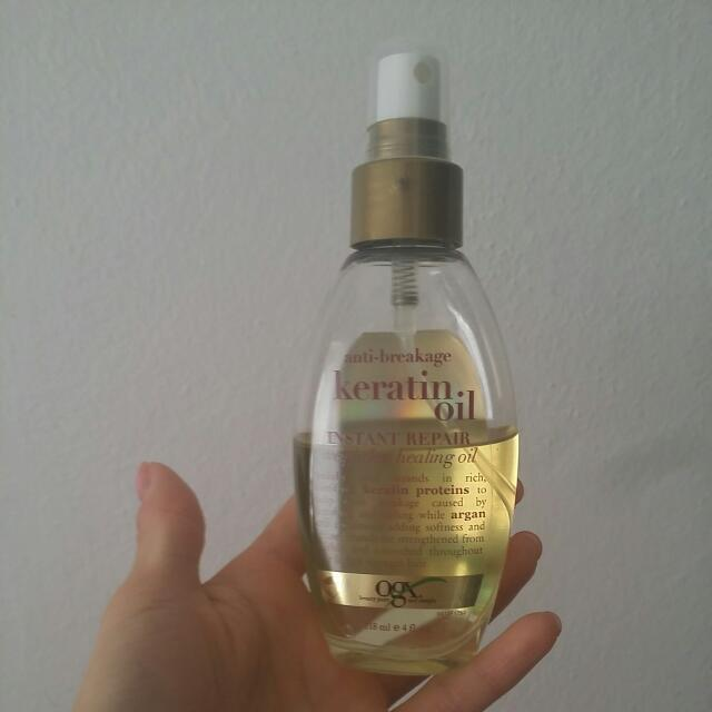 Ogx Keratin Oil Instant Repair Weightless Healing Oil