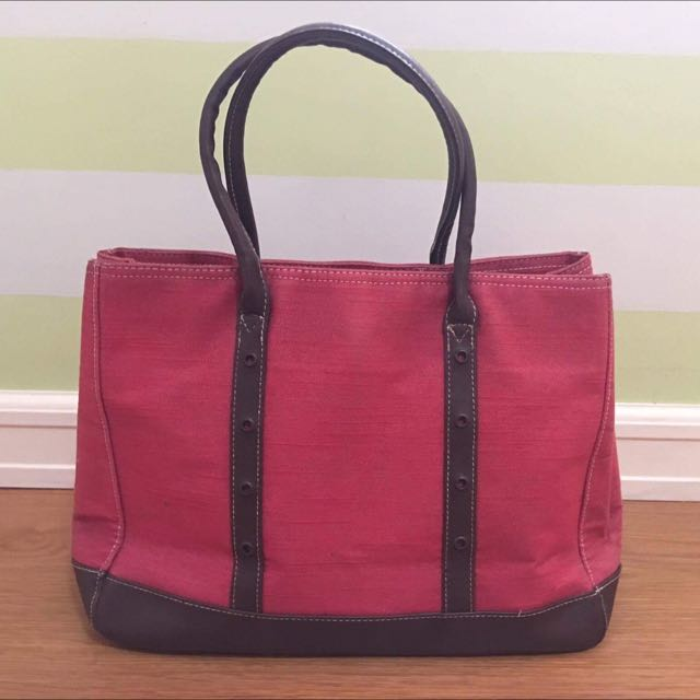 Preloved Red Bag From Japan