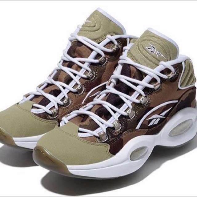 f5bfc5672b7b3 reebok x bape x mita sneakers, Men's Fashion, Footwear on Carousell