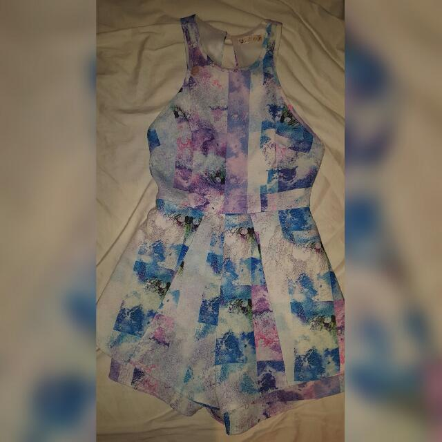 Size 6 Blossom Playsuit