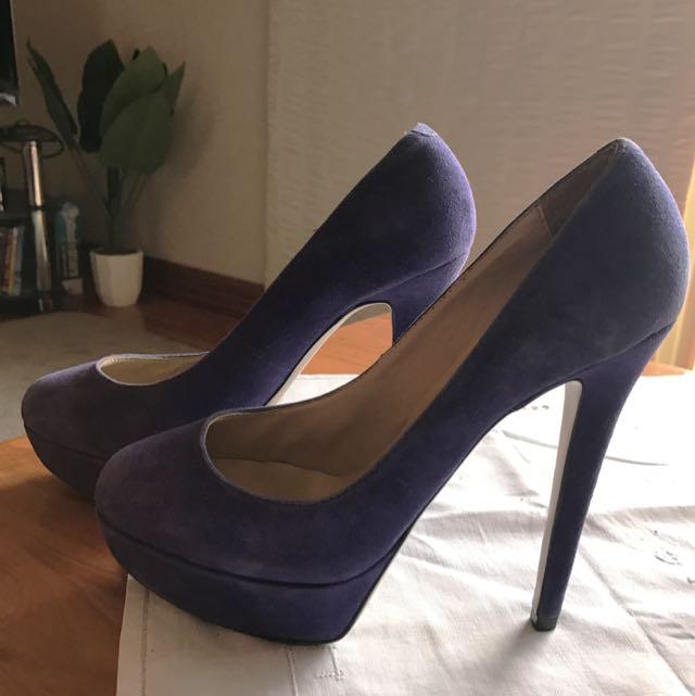 Size 7 Purple Tony Bianco Heels