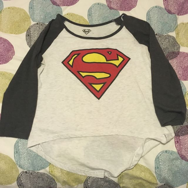 Superman Baseball Style Shirt
