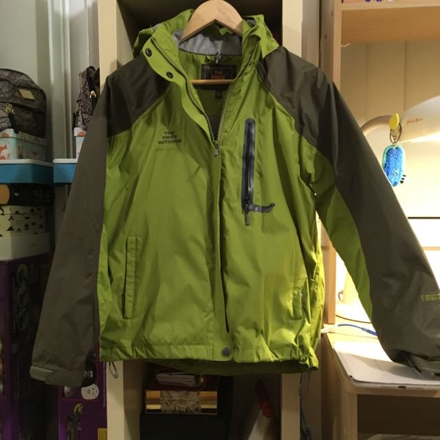 The First Outdoors Anti Wind/Rain JACKET