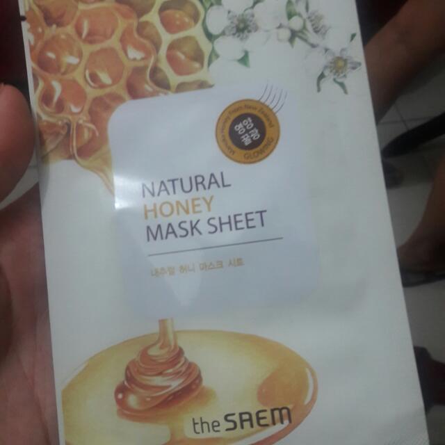 The Saem Honey Mask sheet Php100 1 pc left