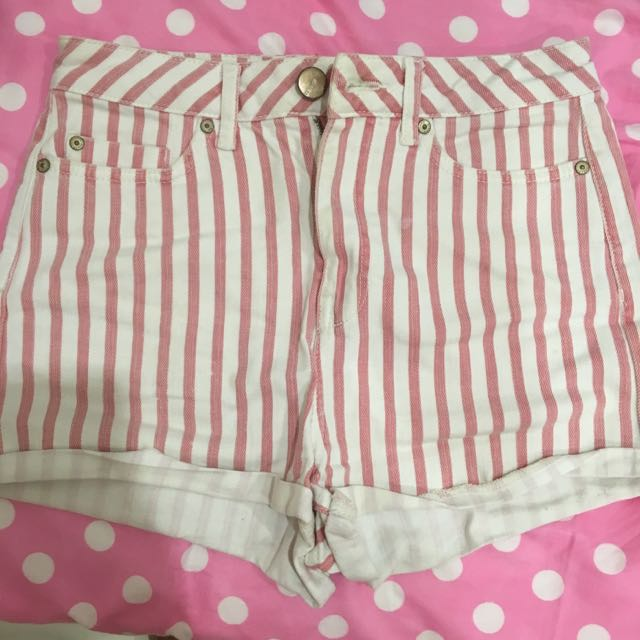 Topshop Stripped Shorts