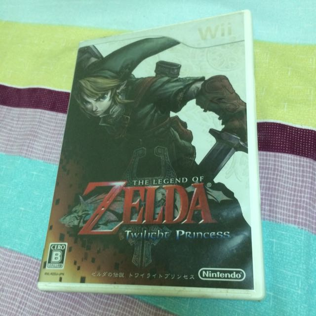 Wii 薩爾達傳說 曙光公主(日版)