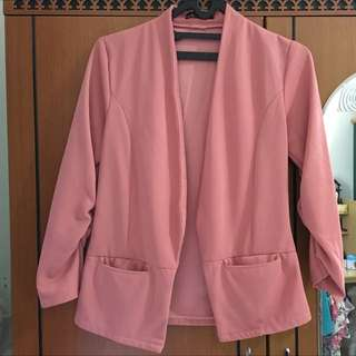 Pink Sophisticated Blazer