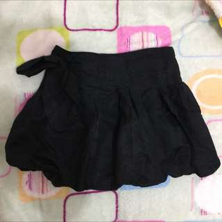 Black Baloon Skirt
