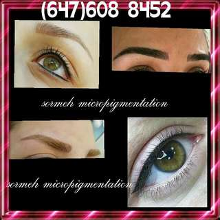Permenant makeup Micropigmentation