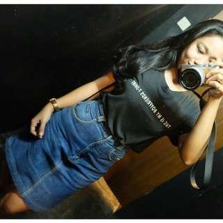 rok Jeans Biru Good Condition