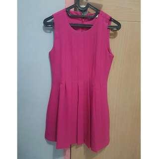 Preloved N.y.L.a Pink Minidress