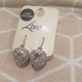 Lovisa Heart Shaped Earrings