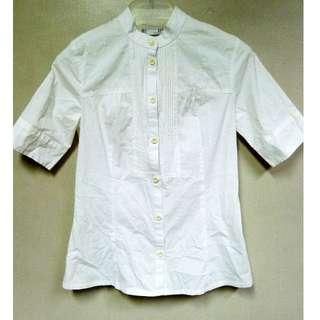 Zara TRF White Blouse