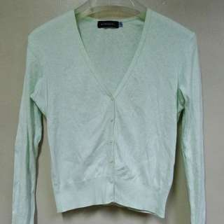Giordano Mint Green Cardigan