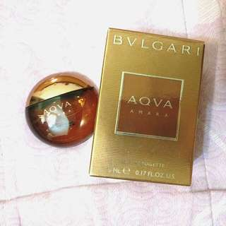 BVLGARI 寶格麗 豔陽水能量男性淡香水 5ml