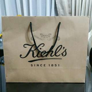 KIEHL'S Paper Bag