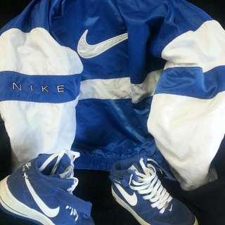 Nike Coat W/ Hood & Air Force 1
