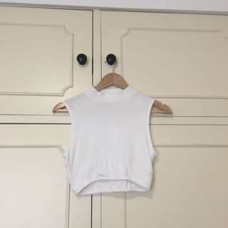 Urban Outfitters White Crops