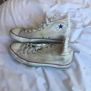 Converse Hi Top White
