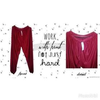 BARU! Maroon Pants ( Celana ) MURAH!!!