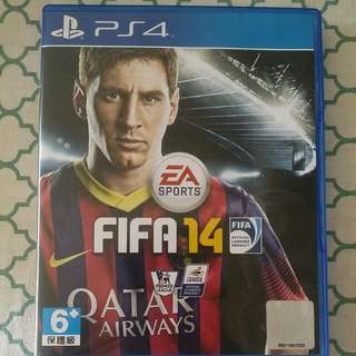 Pre-loved Ps4 Fifa14
