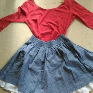 Shirt And Skirt Bundle
