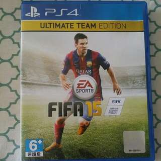 Pre-loved Ps4 Fifa15 Ultimate Team Edition